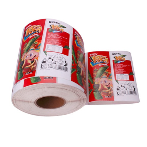 Paper Adhesive Label Roll