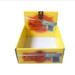 CMYK Full Color E-flute Corrugated Display Box
