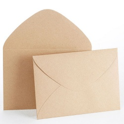 Personalized Craft Paper Envelope