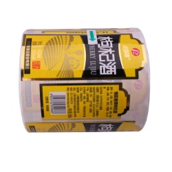 PVC Label Sticker for Beverage