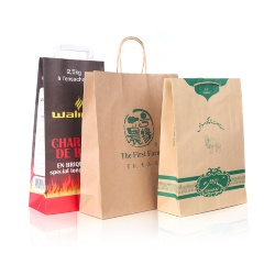 Portable Eco-friendly Craft Paper Bag