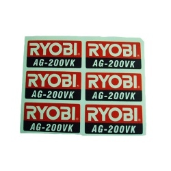 Synthetic PVC Adhesive Sticker